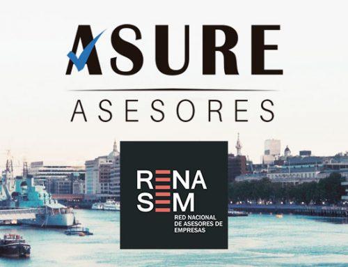 Asure Asesores, consultoría asociada a RENASEM (Red Nacional de Asesores de Empresa)